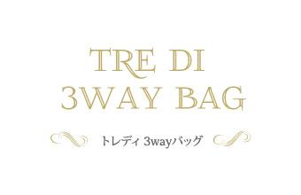 トレディ 3wayバッグ