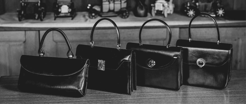 皮革工芸の伝統と厳選された素材から生まれた 気品溢れるバッグの芸術品