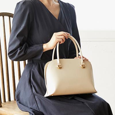 50代の女性に人気、濱野皮革工藝(はまのひかくこうげい)のレディースバッグ